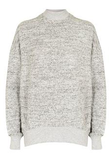 Petite Brushed Batwing Sweatshirt
