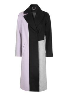 Petite Colour Block Coat