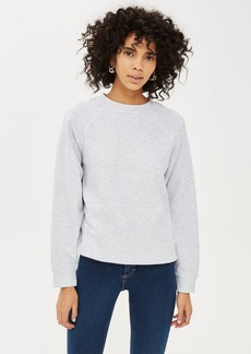 Topshop Petite Flatlock Sweatshirt