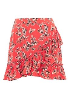 Petite Floral Frill Skirt