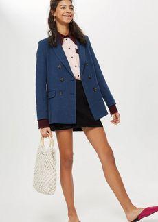 Topshop Petite Front Pocket A Line Skirt