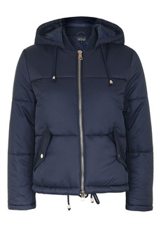 Petite Hooded Puffer Jacket