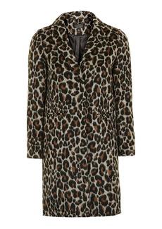 Petite Leopard Coat