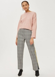 Topshop Petite Mohair Ribbed Cropped Sweater