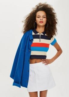 Topshop Petite Pocket A Line Skirt
