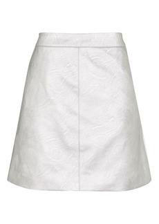 Petite Pu Classic Skirt