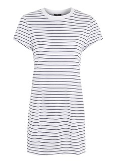 Petite Stripe Roll Back Tee Dress