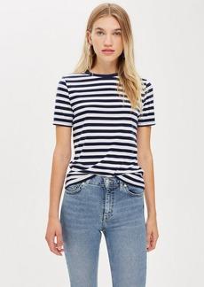 Topshop Petite Stripe T Shirt