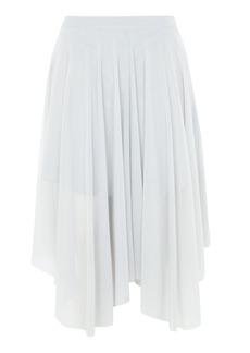 Petite Tulle Midi Skirt