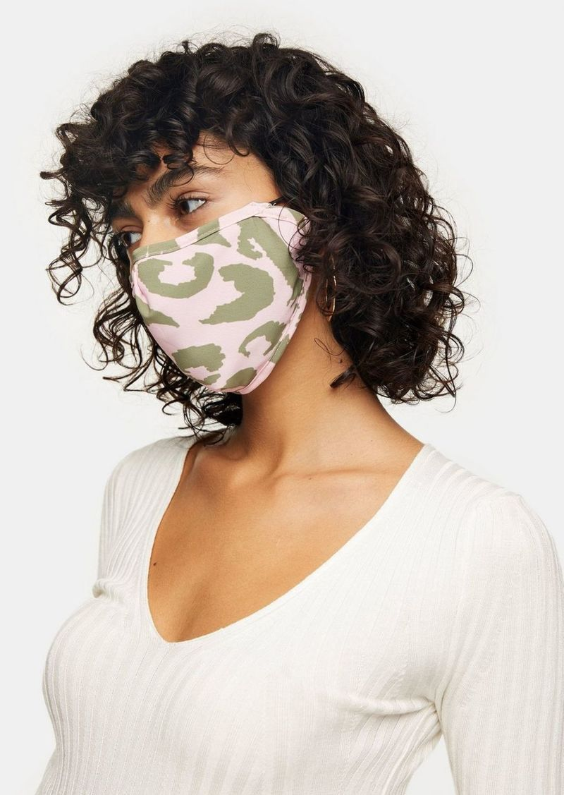 Topshop Clothing /New Semester /Pink Animal Face Mask