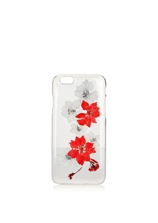 Topshop Pink Flower Iphone S Case