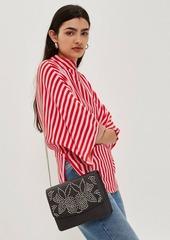 Topshop Pinstud Shoulder Bag