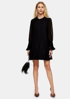 Topshop Pintuck Mini Dress