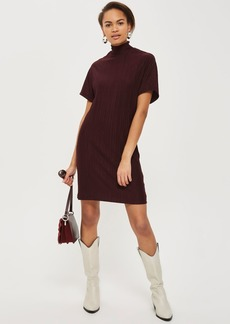 Topshop Plisse Shift Dress By Native Youth