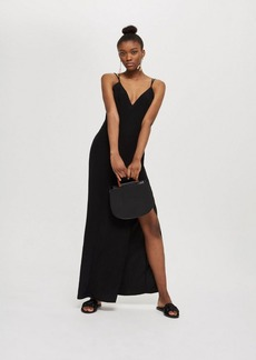 Topshop Plunge Maxi Dress