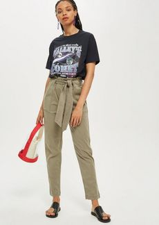 Topshop Popper Utility Cargo Trousers