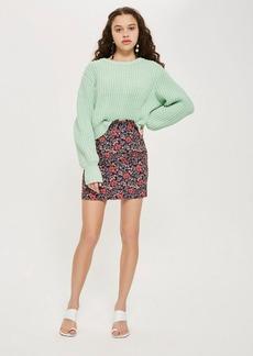 Poppy Jacquard Mini Skirt