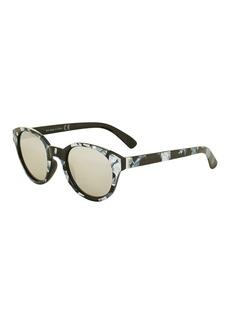 Topshop Preppy Round Sunglasses