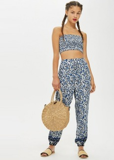 Topshop Printed Jogging Bottom By Band Of Gypsies