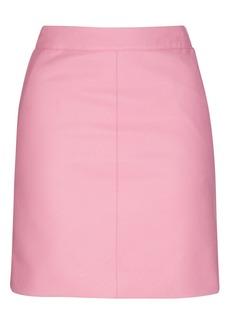 Pu Short Pencil Skirt