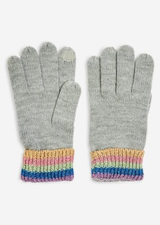 Topshop Rainbow Touchscreen Gloves