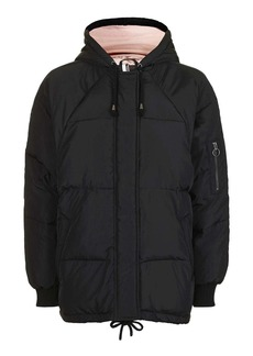Topshop Real Down Puffer Jacket