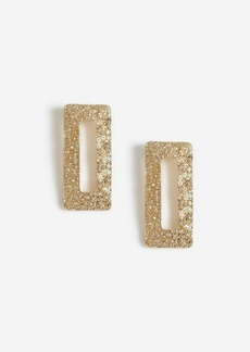 Topshop Bags Accessories /Jewelry /Rectangle Textured Stud Earrings