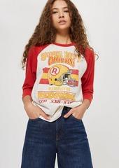 Redskins Raglan T Shirt By Nfl X Topshop