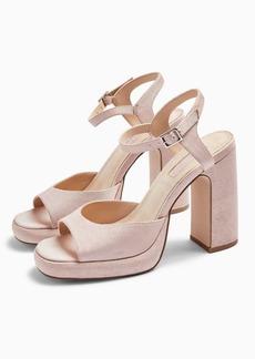 Topshop Reno S Platform Heels Sandals