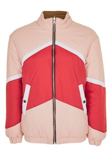 Topshop Reversible Puffer Jacket