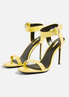 d887128a839 Topshop Topshop Maison Faux Fur Block Heel Sandal (Women)