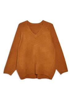 Topshop Rib Knit Sweater