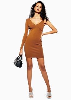 Topshop Ribbed Bodycon Dress