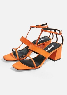 Topshop Ribbon T Bar Sandals