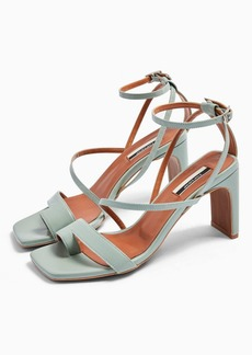 Topshop Rio Leather Toe Loop Sandals
