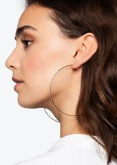 Topshop Rose Gold Large Hoop Earrings
