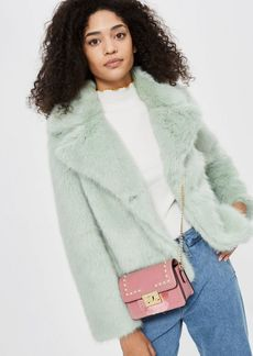 Topshop Rosie Pearl Fringe Cross Body Bag