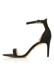 Topshop Row Skinny Two Part Sandals