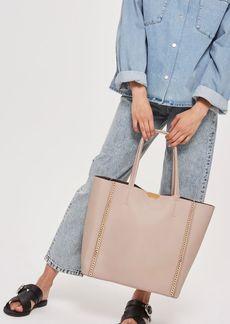 Topshop Sade Chain Shopper Bag