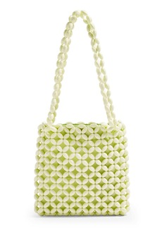 Topshop Saga Beaded Tote Bag