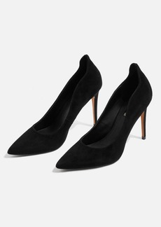 Topshop Sammy Leather Court Shoes