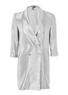 Satin Double Breasted Jacket