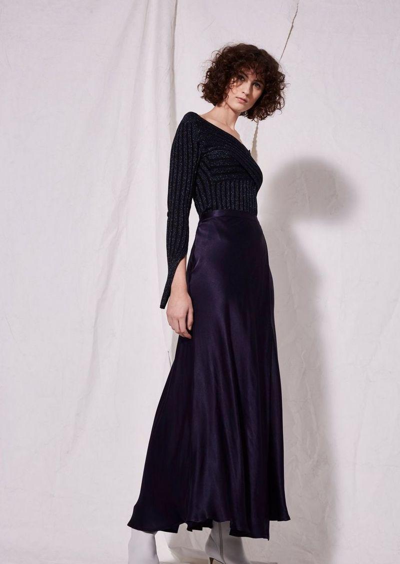 c8e6a85f690ba Topshop Satin Midi Skirt By Boutique
