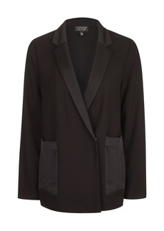 Satin Pocket Jacket