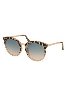 Sebb  Flat Round Sunglasses