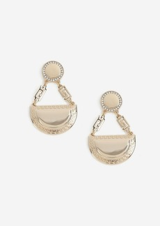 Topshop Semi Circle Drop Earrings