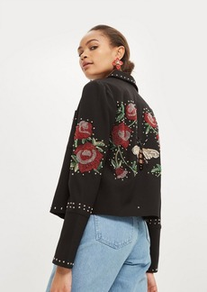 Sequin Embellished Jacket