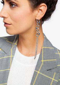 Topshop Shape Crystal Drop Earrings