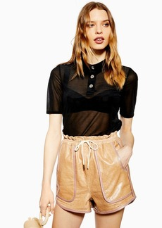 Topshop Sheer Polo