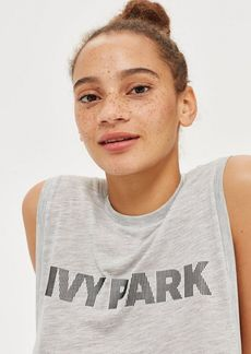 Topshop Silicon Tank Top By Ivy Park